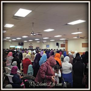 Eid Prayer Space